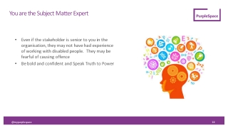 Image of slide 7 - You are the subject matter expert