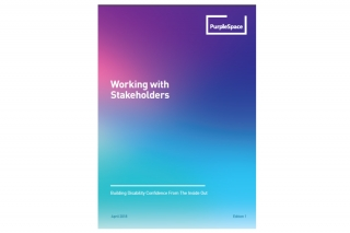 Cover of Working with Stakeholders document