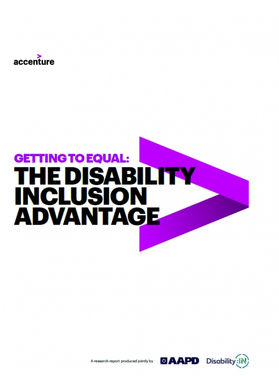 Cover of 'Getting to Equal: The Disability Inclusion Advantage'