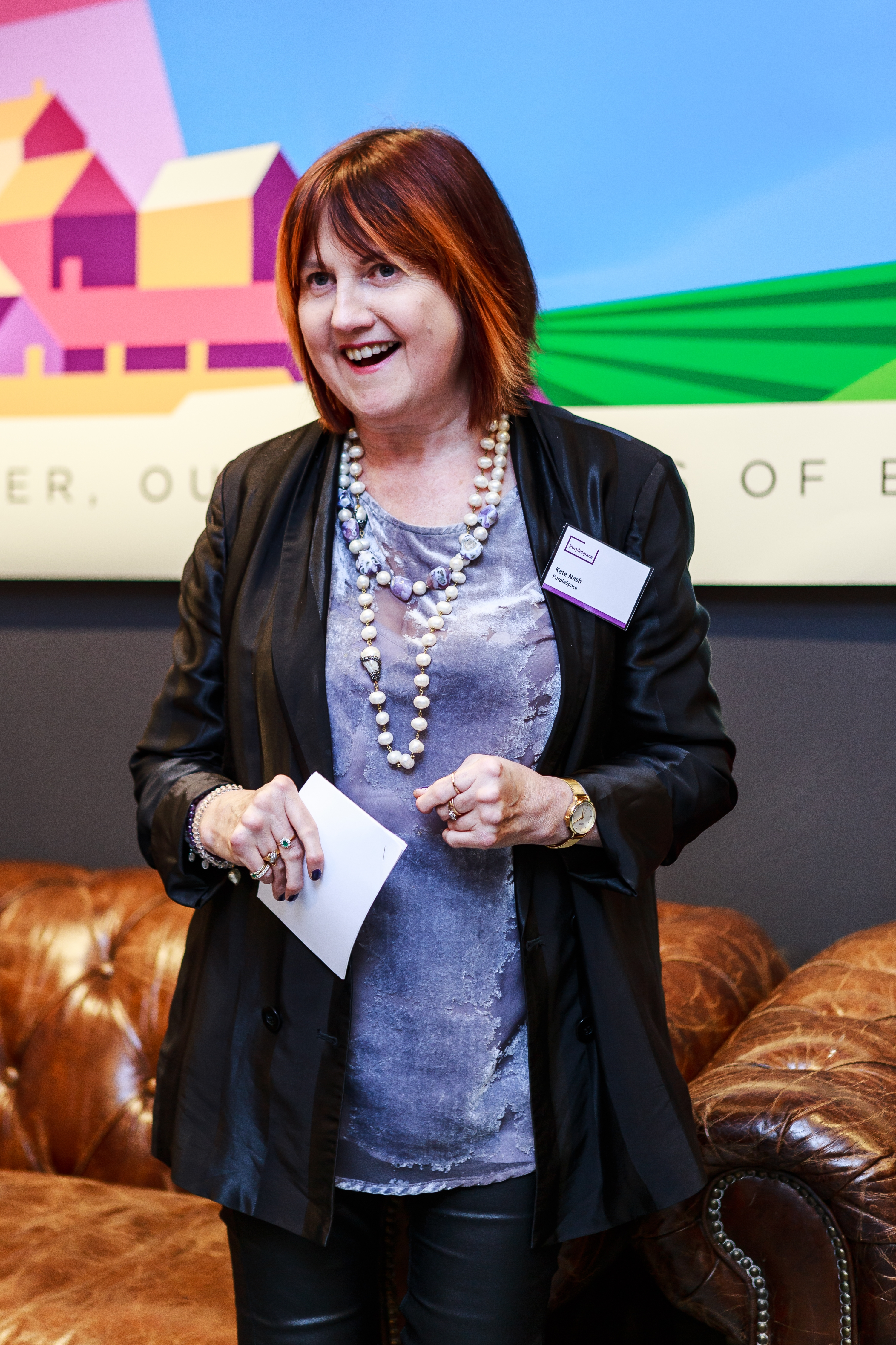 Image of Kate Nash OBE at PurpleSpace event